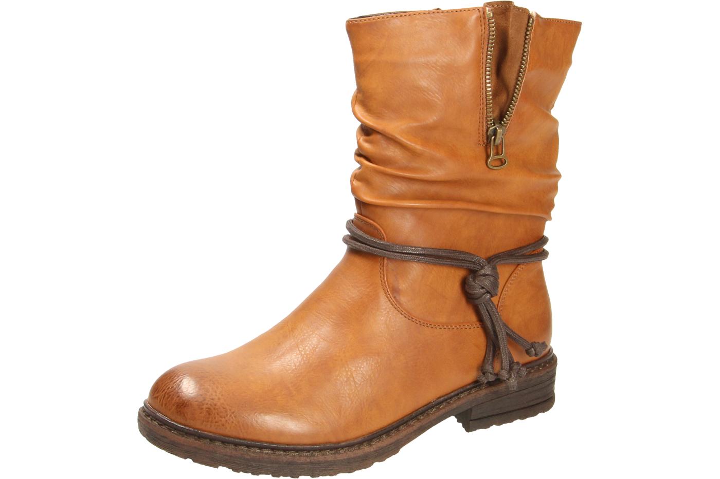 Rieker Damen Winter Stiefel X1473 Braun 22 warm gefüttert