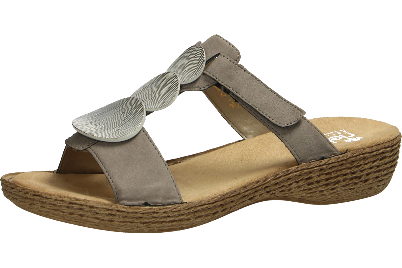 Rieker 65853-44 Schuhe Damen Pantoletten