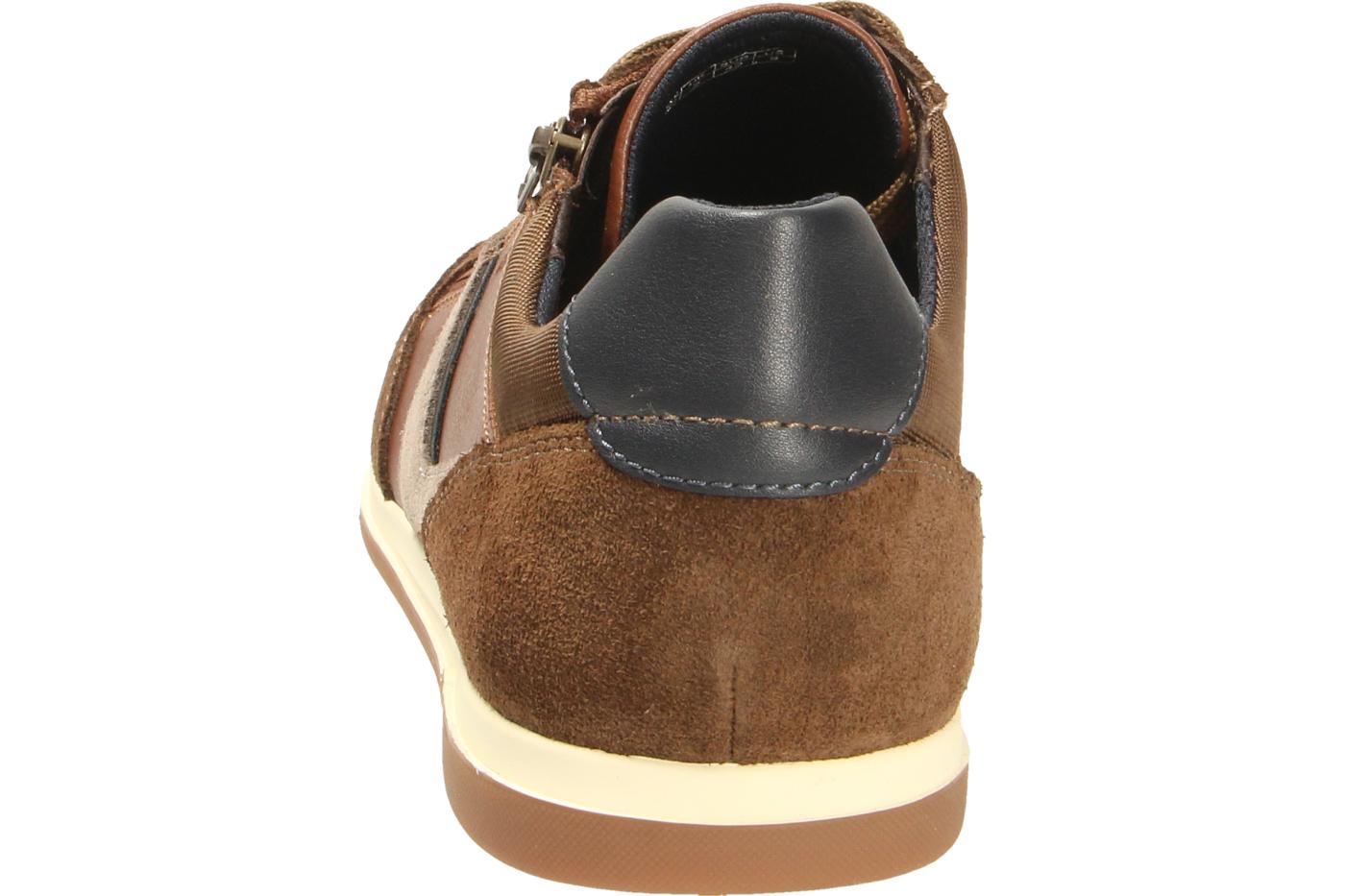 GEOX Sneaker braun U RENAN C SUEDE SYNT.LEA